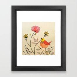 la belle vie Framed Art Print