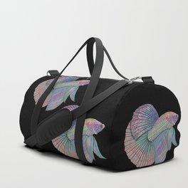 A Beautiful Betta Fish Duffle Bag