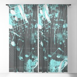 Musical Atmosphere 6 Sheer Curtain