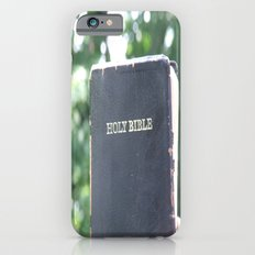 Holy Bible w/ bokeh iPhone 6s Slim Case