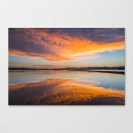 sunrise, Yellowstone National Park Canvas Print