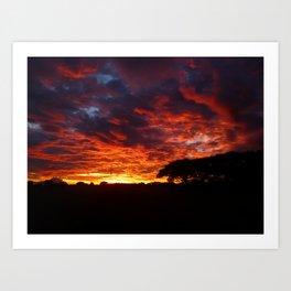 Sunset #2 Art Print
