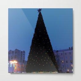 The Christmas tree. Yolochka. Metal Print