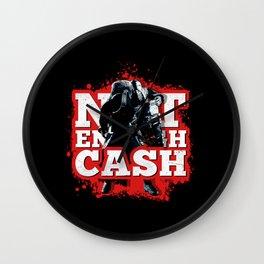 Not Enough Cash Wall Clock