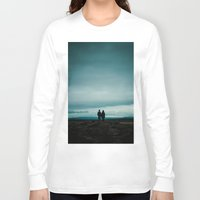 iceland Long Sleeve T-shirts featuring Iceland View by MarsStation