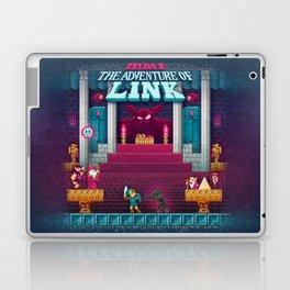 The Link Adventure of Zelda, too Laptop & iPad Skin