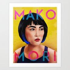 Mako Mori (v1) Art Print