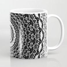Black&White Lace Mug