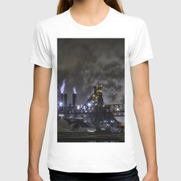 Steel Mill Cleveland, Ohio Industrial T-shirt