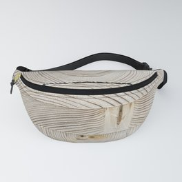 Wood Stack Fanny Pack