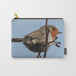 Beautiful robin Carry-All Pouch