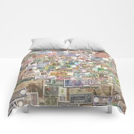 Foreign Exchange by John Logan Comforters
