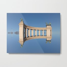 Once upon a time in Budapest Metal Print