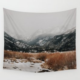 Wandering Through a Winter Wonderland Wall Tapestry