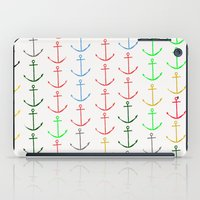 anchors iPad Cases featuring Anchors by Maressa Andrioli