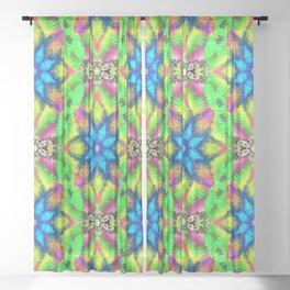 60's Love... Sheer Curtain