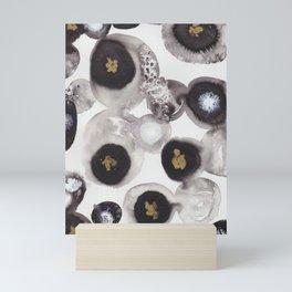 """Flowing Circles"" - Karla Leigh Wood Mini Art Print"