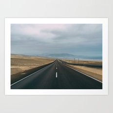 Road to Lima Art Print