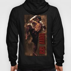 Ong bak Tony Jaa the Muang thai kick boxing Warrior Hoody