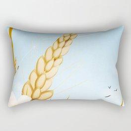 The farm on a sunny day. Rectangular Pillow