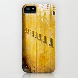 Old Orange Lockers iPhone Case