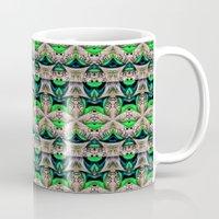 bamboo Mugs featuring Bamboo by Zandonai Pattern Designs