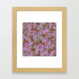 Monarch Mania Framed Art Print