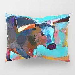 Texas Longhorn Pillow Sham