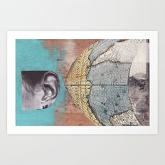 News Travels Fast Art Print