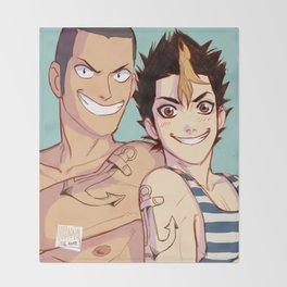 anchor bros Throw Blanket