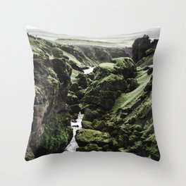 Iceland 2018 Throw Pillow