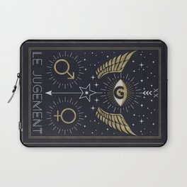 Le Jugement or The Judgement Tarot Laptop Sleeve