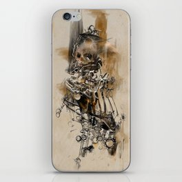 A Page From The Book Of The Damned iPhone Skin