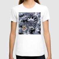 korean T-shirts featuring Camouflaged Korean Tiger by Hapa Mandu