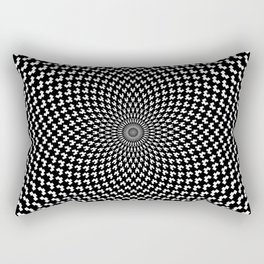 Illusion of Choice Hypnotic Pattern Rectangular Pillow