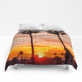 Santa Monica Sunset Comforters