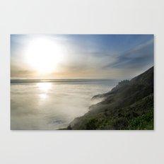 Big Sur California Coast - Sunset Canvas Print
