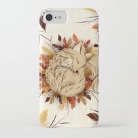 mandie manzano iPhone & iPod Cases featuring Night Fall by LouJah