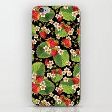 Strawberries Botanical iPhone & iPod Skin