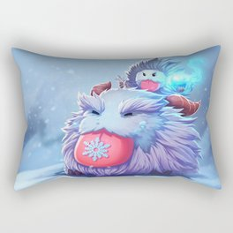 Nunu Poro League Of Legends Rectangular Pillow