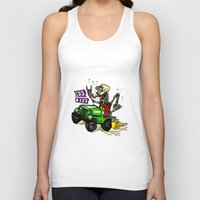 jeep Tank Tops featuring Jeep Creep by CreepWerks