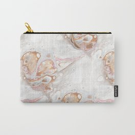 Champagne Dream (Original Abstract Acrylic Painting) Carry-All Pouch