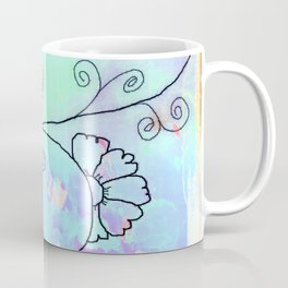 Flower on vine Coffee Mug