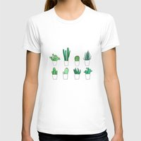 cacti T-shirts featuring Cacti by Aferova