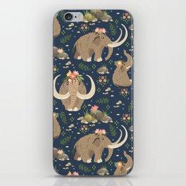 Cute mammoths iPhone Skin