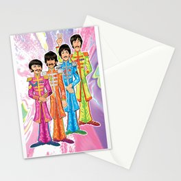 Psychedelic Peppers Stationery Cards