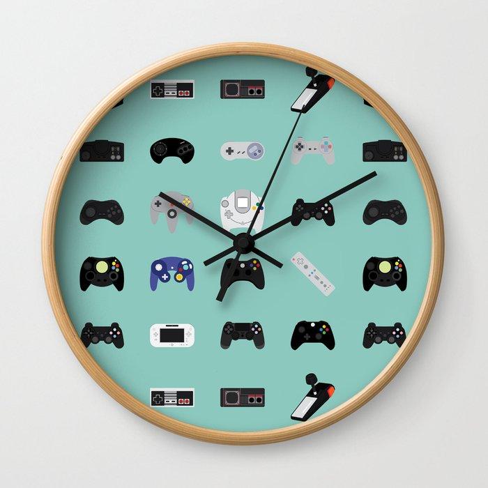 Console Evolution Wall Clock