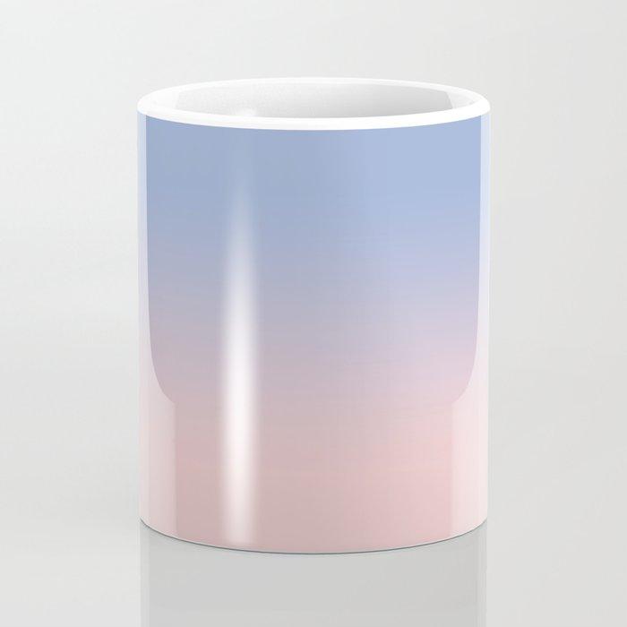 Pantone Rose Quartz and Serenity Ombre Coffee Mug