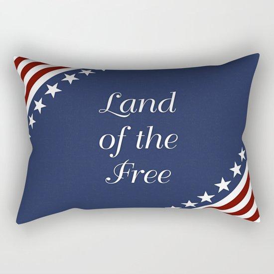 U.S.A. - Land Of The Free Rectangular Pillow