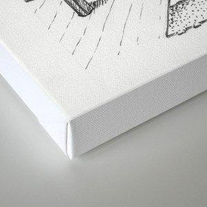 Whiteboard Canvas Print